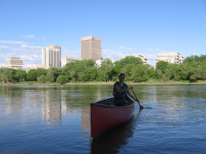 Elly on the Red River