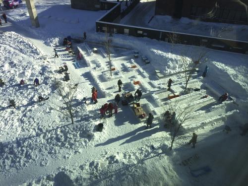 SnowMAZEing 3